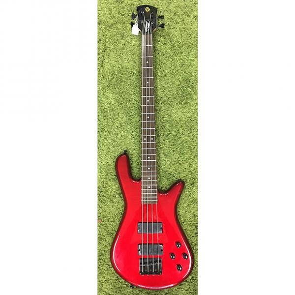 Custom Spector Performer 4 Bass 2016 Metallic Red #1 image