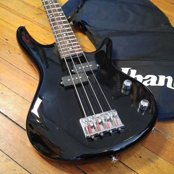 Custom Ibanez IJMB15 3/4 Scale Electric Bass Black w/Ibanez Gig Bag #1 image