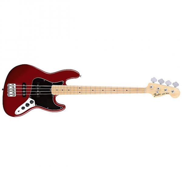 Custom Fender American Special Jazz Bass Maple Candy Apple Red With Gig Bag #1 image