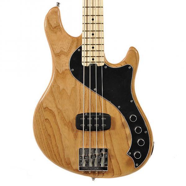 Custom Fender American Deluxe Dimension Bass IV MN Natural Floor Model #1 image