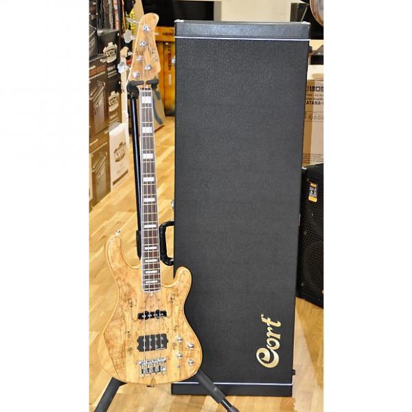 Custom Cort GB4 Custom Maple Top 4 Strings GB4-Custom Bass Guitar - Free World Shipping #1 image