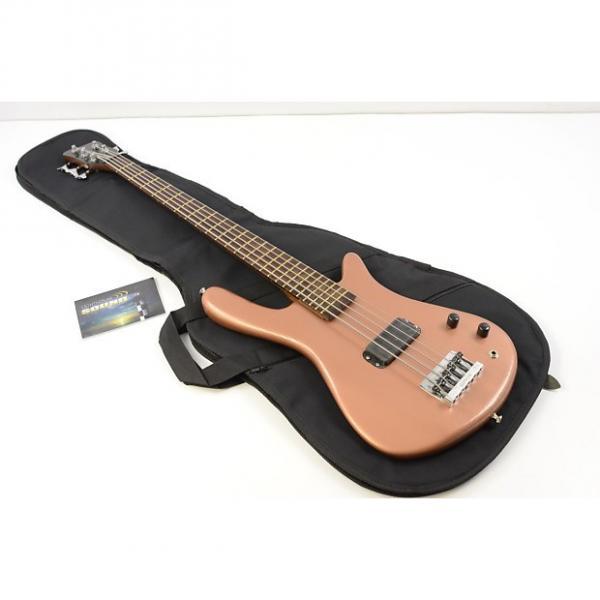 Custom 2000 Warwick Streamer Std 5 String Bass Guitar - Copper w/Gig Bag - Refinished #1 image