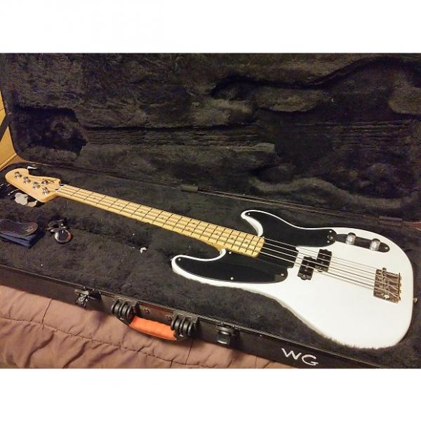 Custom Fender P Bass 2005 Antique White #1 image