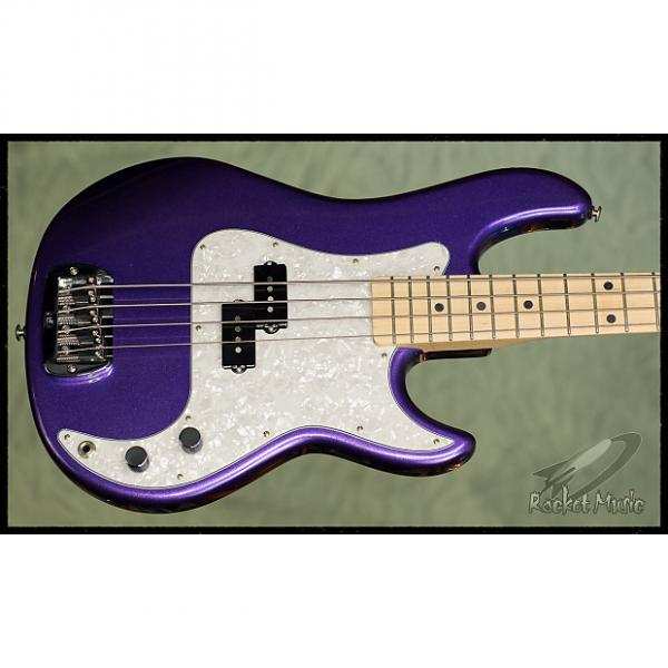 Custom G&L LB-100 2017 Royal Purple Metallic #1 image