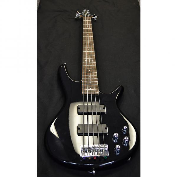 Custom Used Ibanez GSR 205 Bass Black #1 image