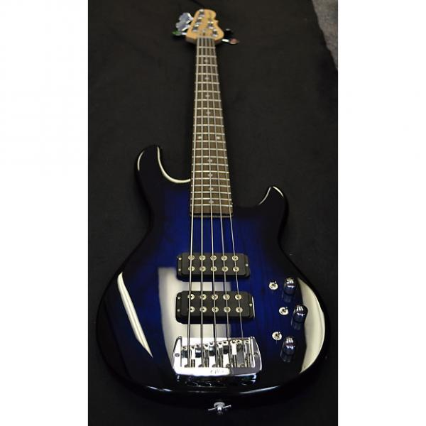 Custom G & L Tribute Series L-2500 Bass Guitar L-2500 Tribute Blue Burst #1 image