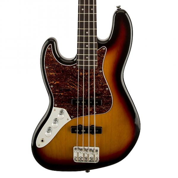 Custom Squier Left-Handed Vintage Modified Jazz Bass - 3 Color Sunburst #1 image