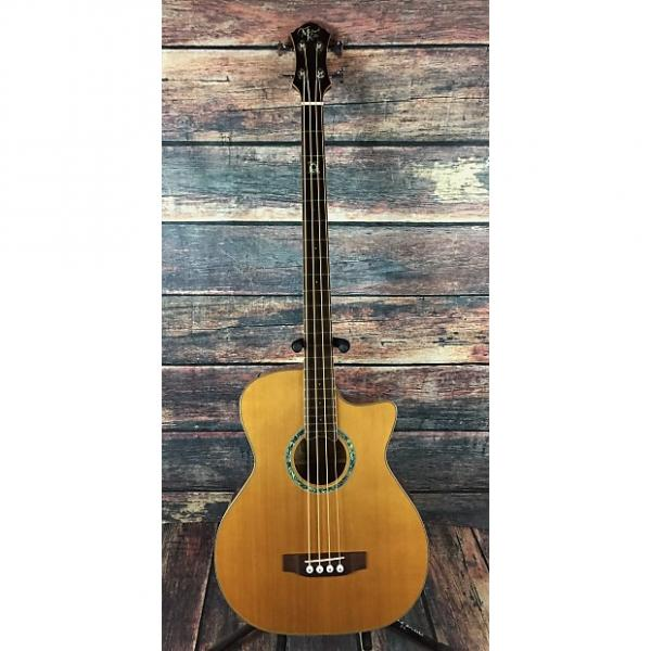 Custom Michael Kelly Club Custom 4 Acoustic Electric Bass with hard shell case #1 image