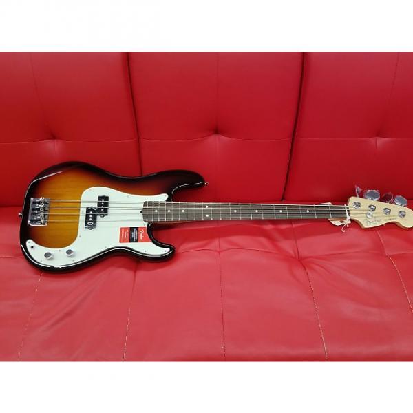Custom Fender American Professional Precission Bass 2017 3-Tone Sunburst Rosewood Fingerboard #1 image