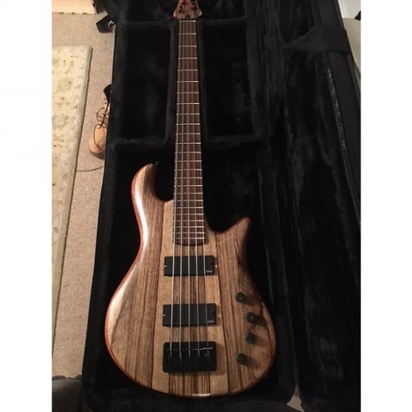 Custom Drake Custom Bass Guitar 5-string-Natural-Big Price Drop #1 image