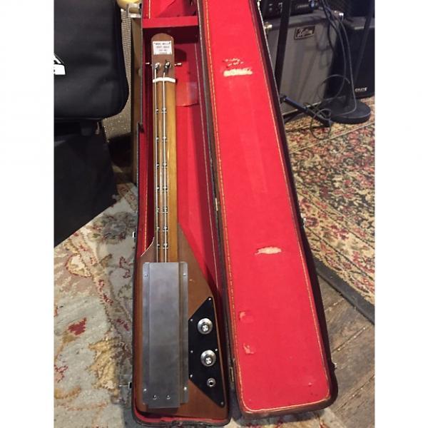 Custom Mike Miller Foot Bass 1970's (?) Wood #1 image
