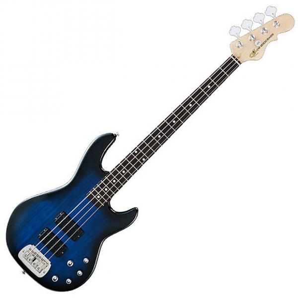 Custom G&L Tribute M-2000 Bass - Blueburst #1 image