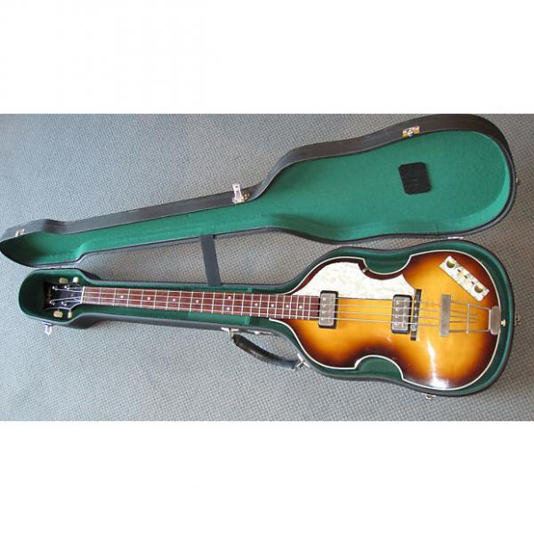 Custom Höfner Violin Bass Modell 500/1-63-SB 2003 Antique Sunburst #1 image