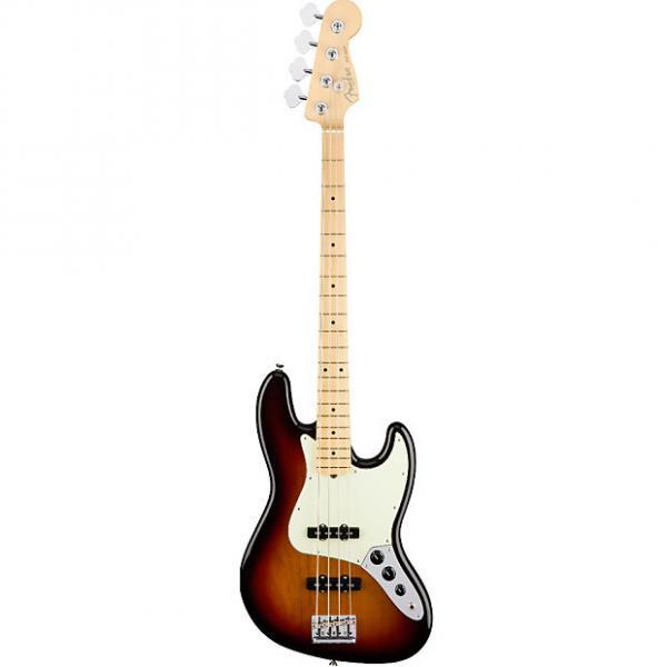 Custom Fender American Professional Jazz Bass 3-Color Sunburst 4-string Electric Bass w/ Case #1 image