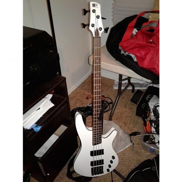 Custom Ibanez SRX2 EX2 White #1 image