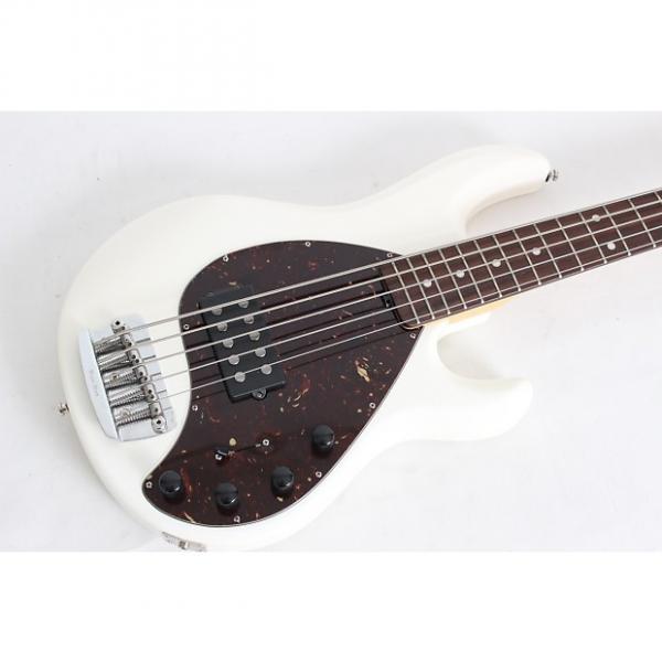 Custom 2012 Ernie Ball Music Man Stingray 5 White w/case - MINT - #1 image