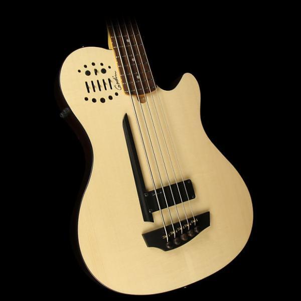 Custom Godin A5 Ultra Semi-Acoustic Bass Synth Access Natural #1 image