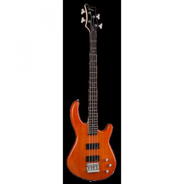 Custom Dean Edge 1 Bass, Trans Amber, E1 TAM #1 image