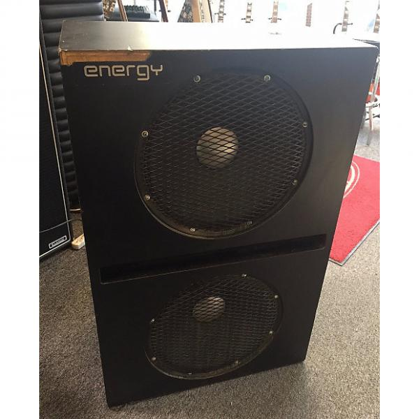Custom Used Energy 2x15 Bass Cabinet W/ Road Case Owned by Stu Hamm #1 image