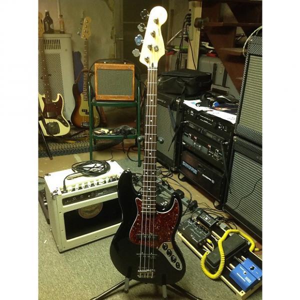 Custom Fender Deluxe Jazz Bass 2004 Black #1 image