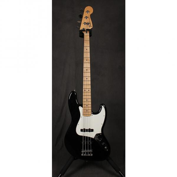 Custom Fender  Standard Jazz Bass  Black #1 image