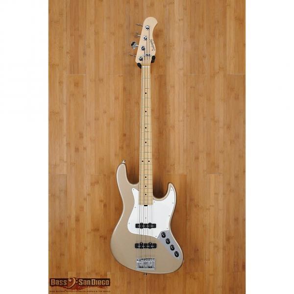 Custom Sadowsky NYC 4 String Bass True Shoreline Gold #1 image