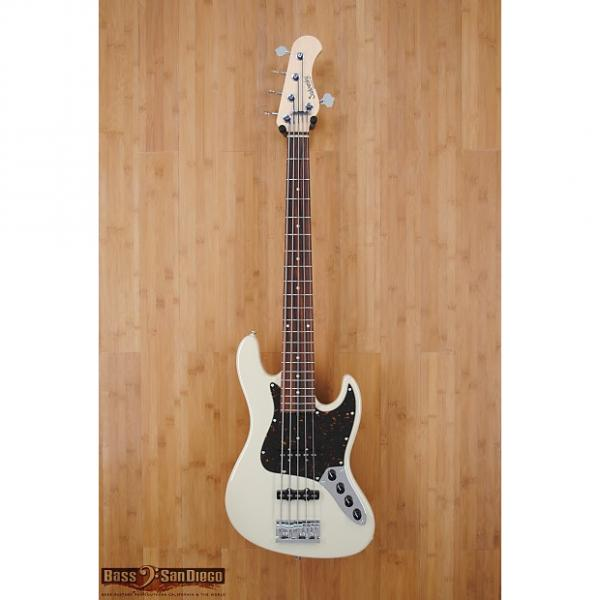 Custom Sadowsky RV5 5-String Bass Olympic White #1 image