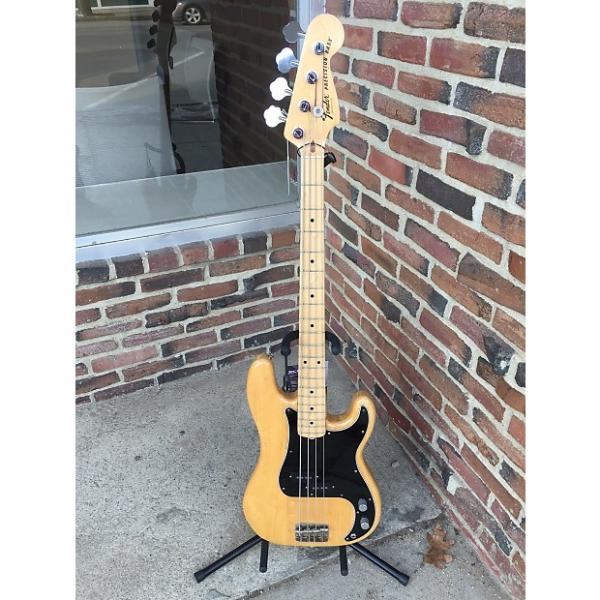 Custom Fender Precision Bass  1977 Natural Gloss with Maple Neck #1 image