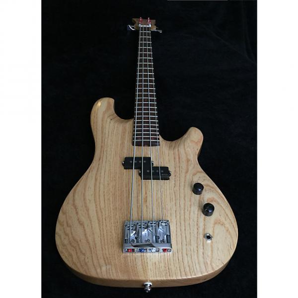 Custom Wrong Way Customs Blonde Bombshell 2017 Swamp Ash Wenge Natural P Bass EMG #1 image