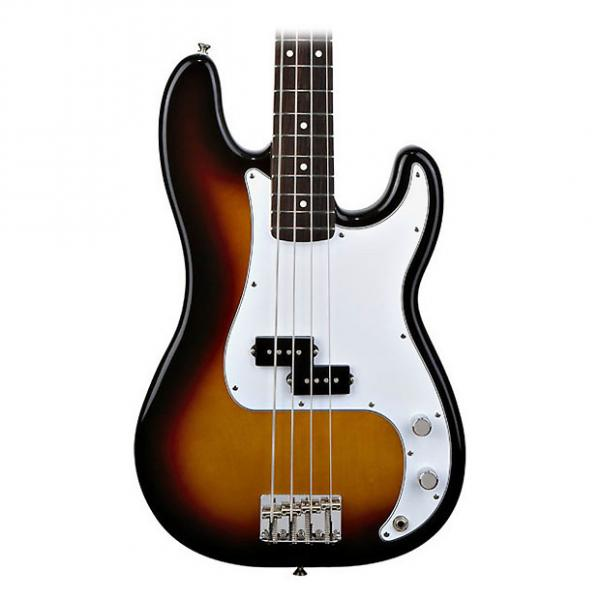 Custom Fender Mexican Standard P-Bass in Brown Sunburst (2011) #1 image