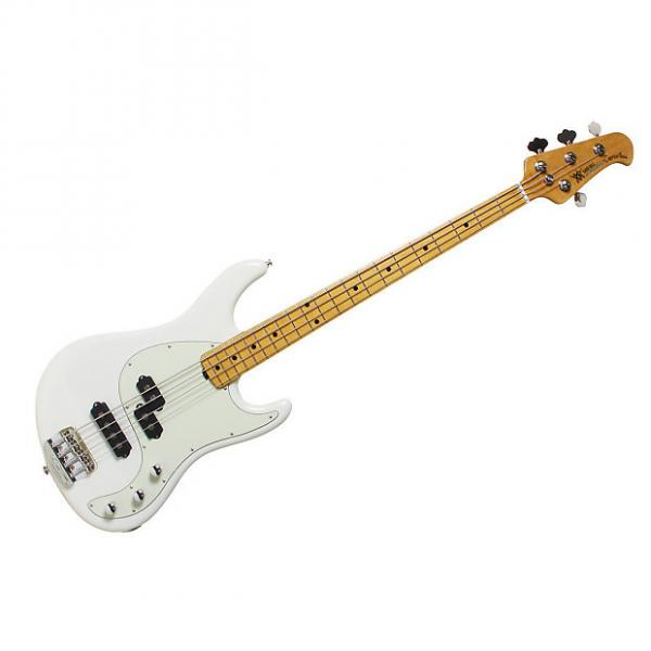 Custom Ernie Ball Music Man Caprice Bass Ivory White F45296 #1 image