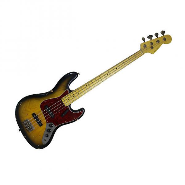 Custom Nash Guitars JB-75 Two-Tone Sunburst NG-3241 #1 image