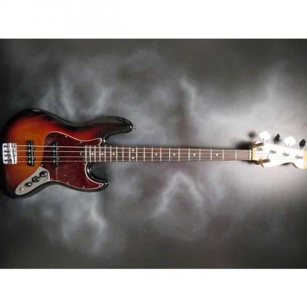 Custom Fender American Standard Jazz Bass 2016 3 Tone Sunburst #1 image