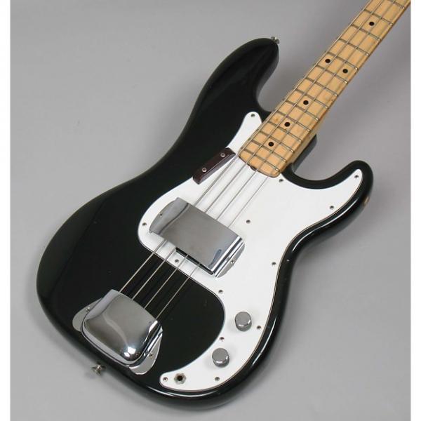 Custom Fender Precision Bass 1974 Black Rare A Neck #1 image