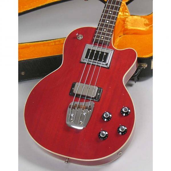 Custom Guild M-85 II Bass 1970 Cherry Semi Hollow #1 image