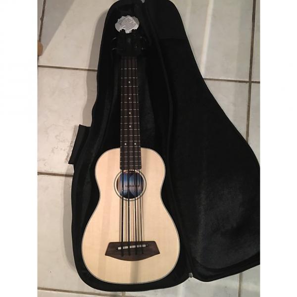Custom Kala UBass Acoustic/Electric Sitka top with Gig Bag #1 image