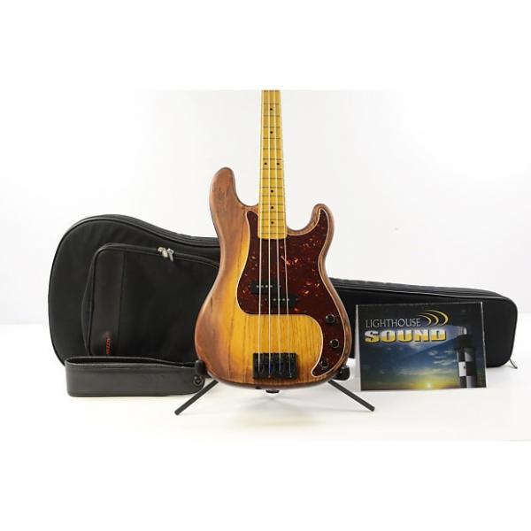 Custom Warrior Bella 62 Electric Bass Guitar - Sunburst w/Gig Bag - Active #11 #1 image