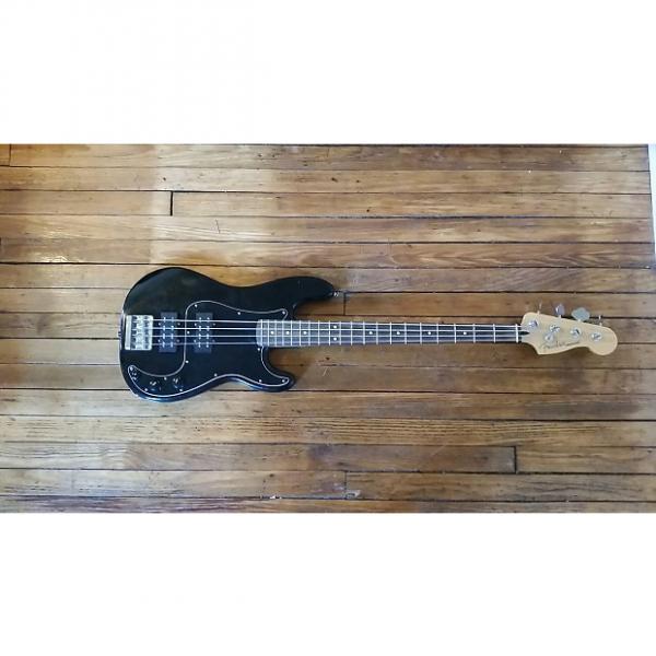 Custom Fender Blacktop Precision Bass  Black #1 image