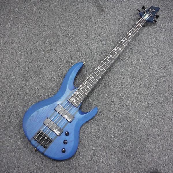Custom Edwards E-BT-110B Bass Guitar Blue #1 image