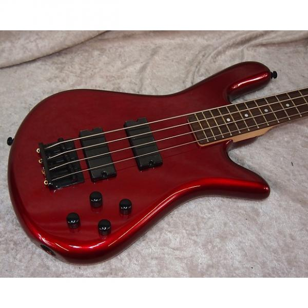 Custom NEW! Spector Performer 4 PERF4MR electric bass in metallic red finish #1 image