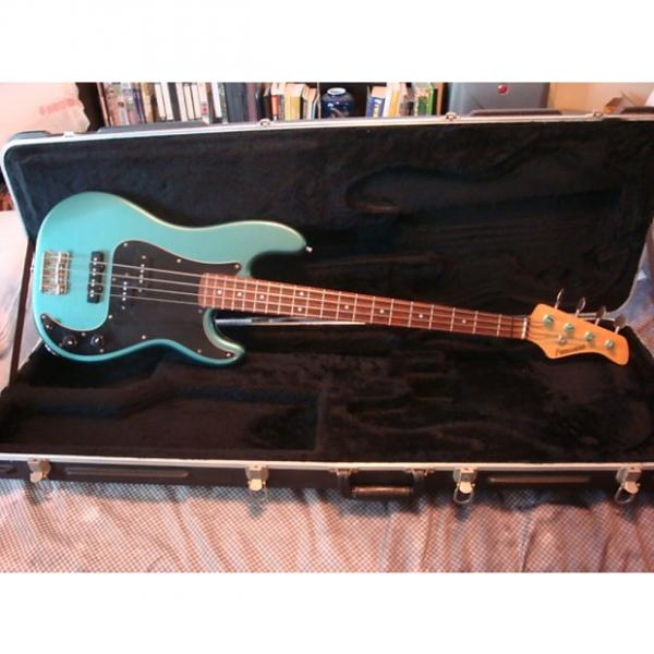 Custom MIJ Fernandes Hot Rod 1992 Aqua Sparkle #1 image