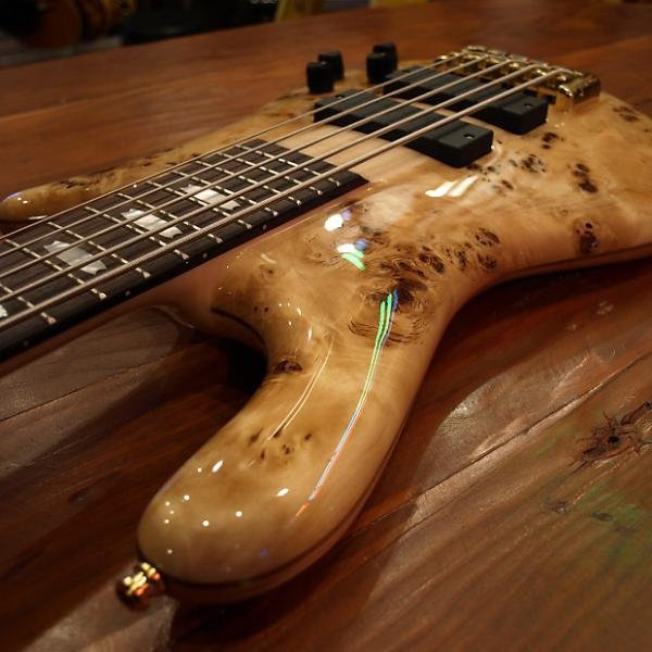 Custom ON SALE! Spector 5 string Bass Poplar Burl (Originally $2349.00) #1 image