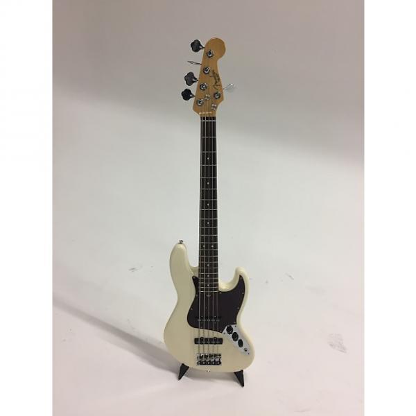 Custom Fender American Standard Jazz Bass V 2016 Olympic White w/ Rosewood Fretboard #1 image