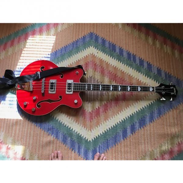Custom Gretsch 5442 2014 Red #1 image