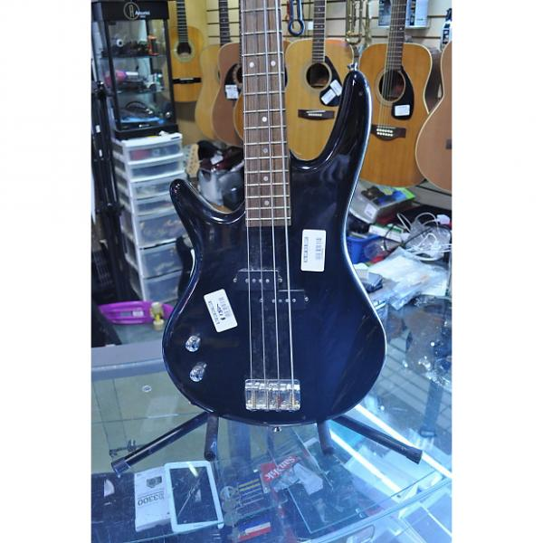 Custom ibanez  soundgear left handed black #1 image