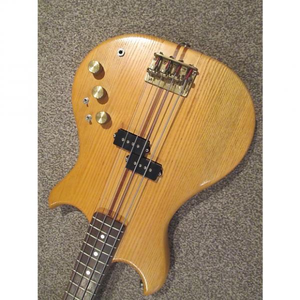 Custom Westone Thunder 1A bass guitar 1984 natural #1 image