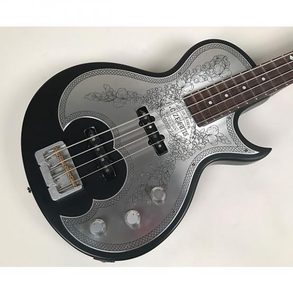 Custom Zemaitis Antanus Series Metal Front Bass Model A22B MF BK with Original Hardshell Case #1 image