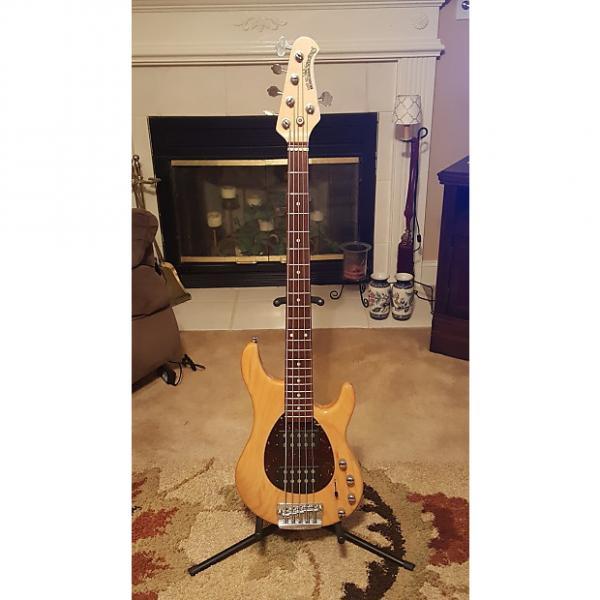 Custom Ernie Ball Music Man Sterling 5 HH 2015 Natural High Gloss #1 image