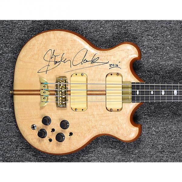 "Custom Alembic Stanley Clarke ""Retro"" Model 2016 Birdseye Maple #1 image"