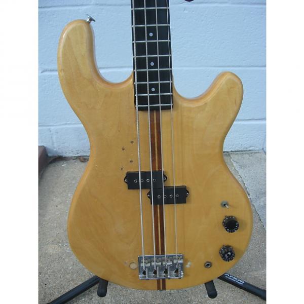 Custom Kramer Vintage DMZ Bass Guitar Aluminum Neck W/ Gig Bag 70's Natural #1 image